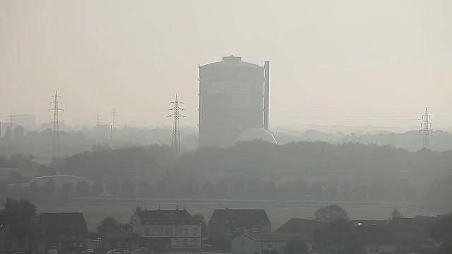 Sprengung Gasometer DEW21