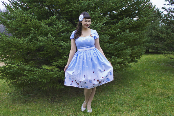 unique vintage noelle swing dress