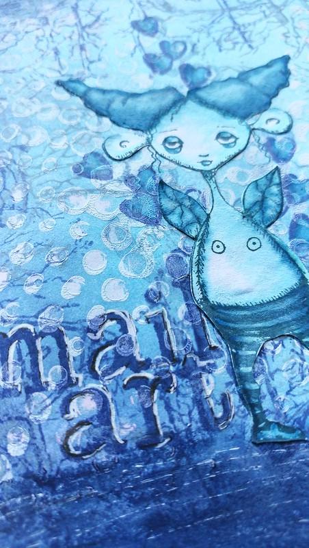 Winter Elf Mail Art