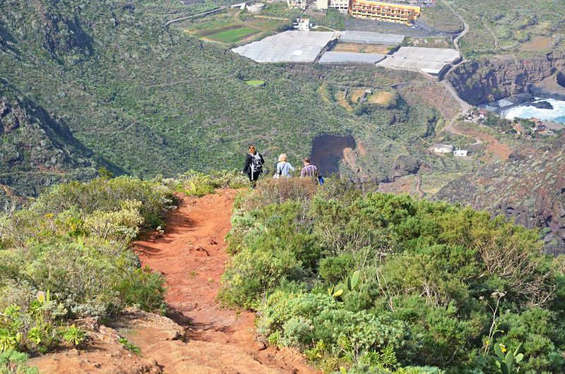 Steep path, Anaga, Tenerife