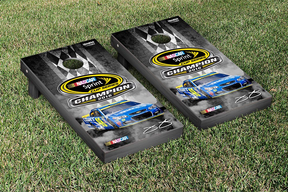 JIMMIE JOHNSON #48 CORNHOLE GAME SET CHAMPION VERSION (1)