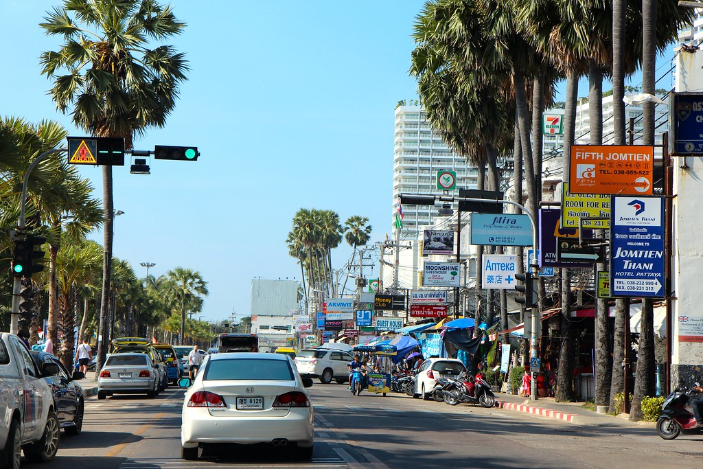 Pattaya ja Jomtien Beach