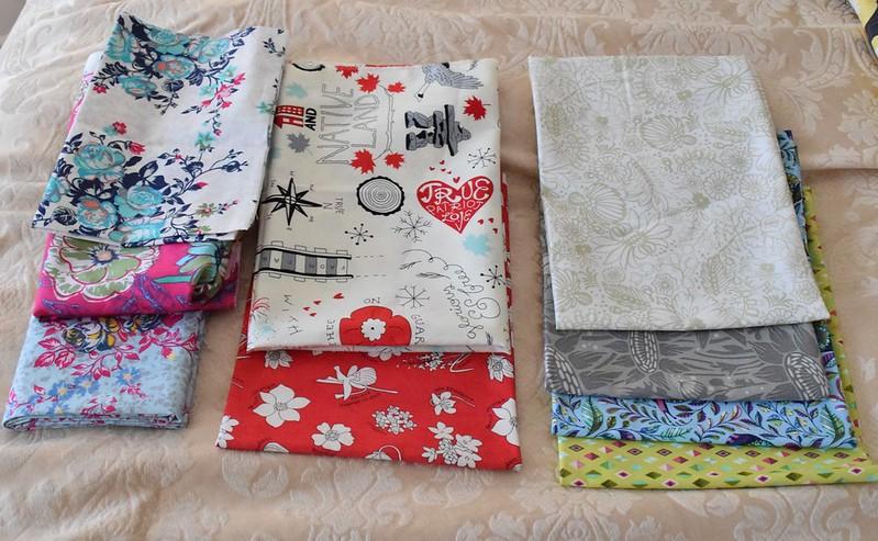 sunday stash fabrics
