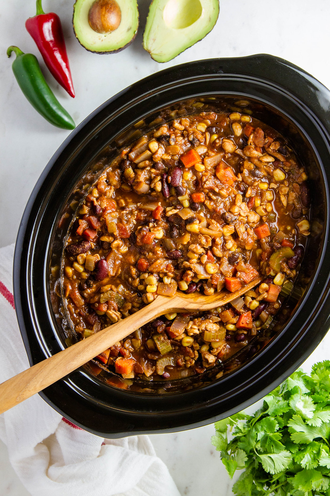 EASY VEGETABLE CHILI