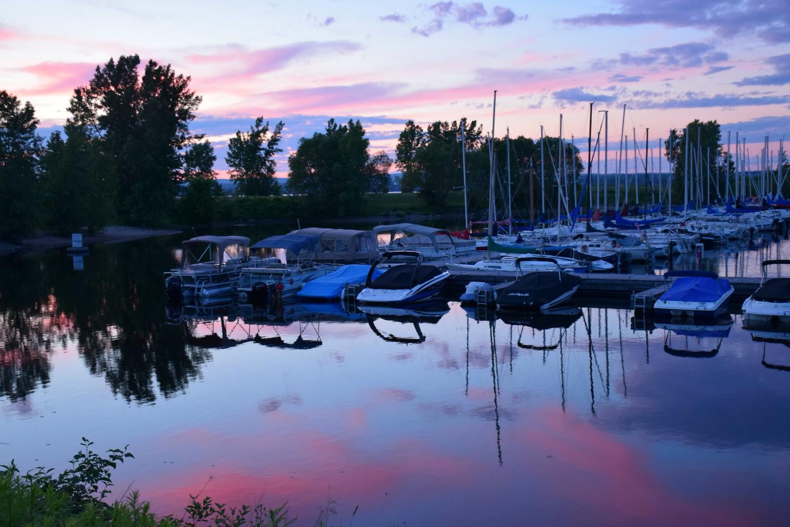 Pink Sunset, Ottawa, Canada