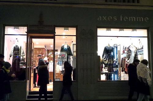 Axes Femme Paris