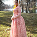 1840s Day Dress and Bonnet