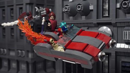 """Going down - Star Wars """"Uncertain Ways"""" 1.14"""