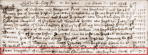 Ann C baptism 1717_18