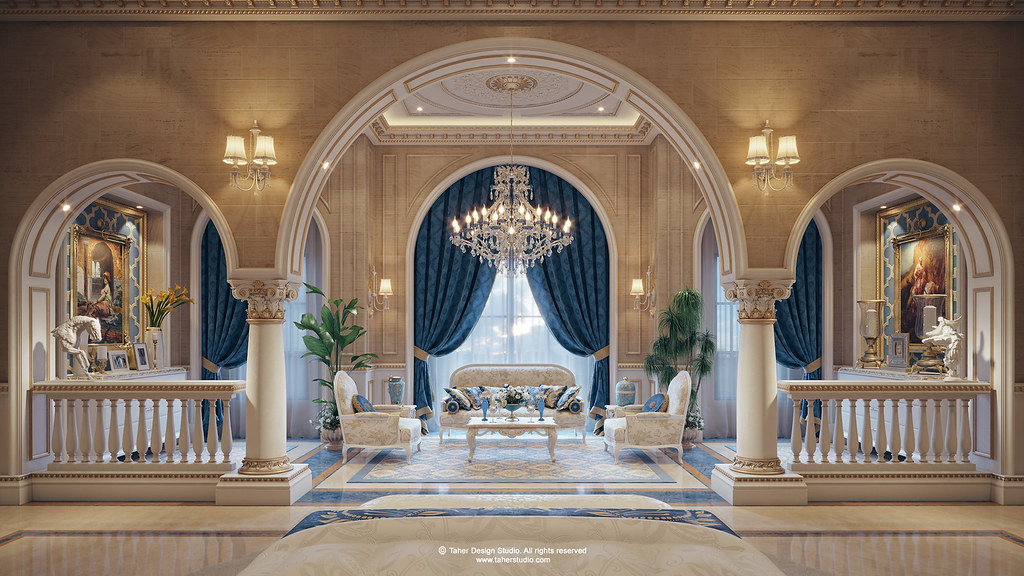 Luxury Mansion Qatar By Taher Studio_09