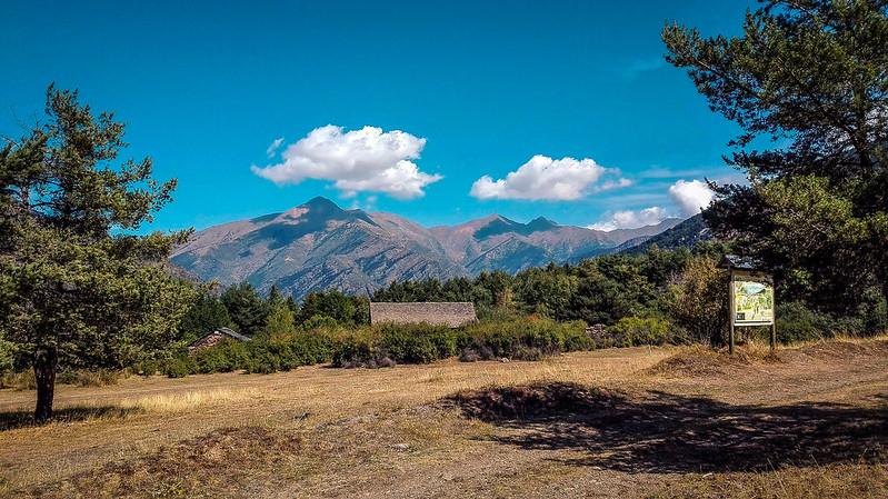 Los Pirineos desde el Pla de Buiro