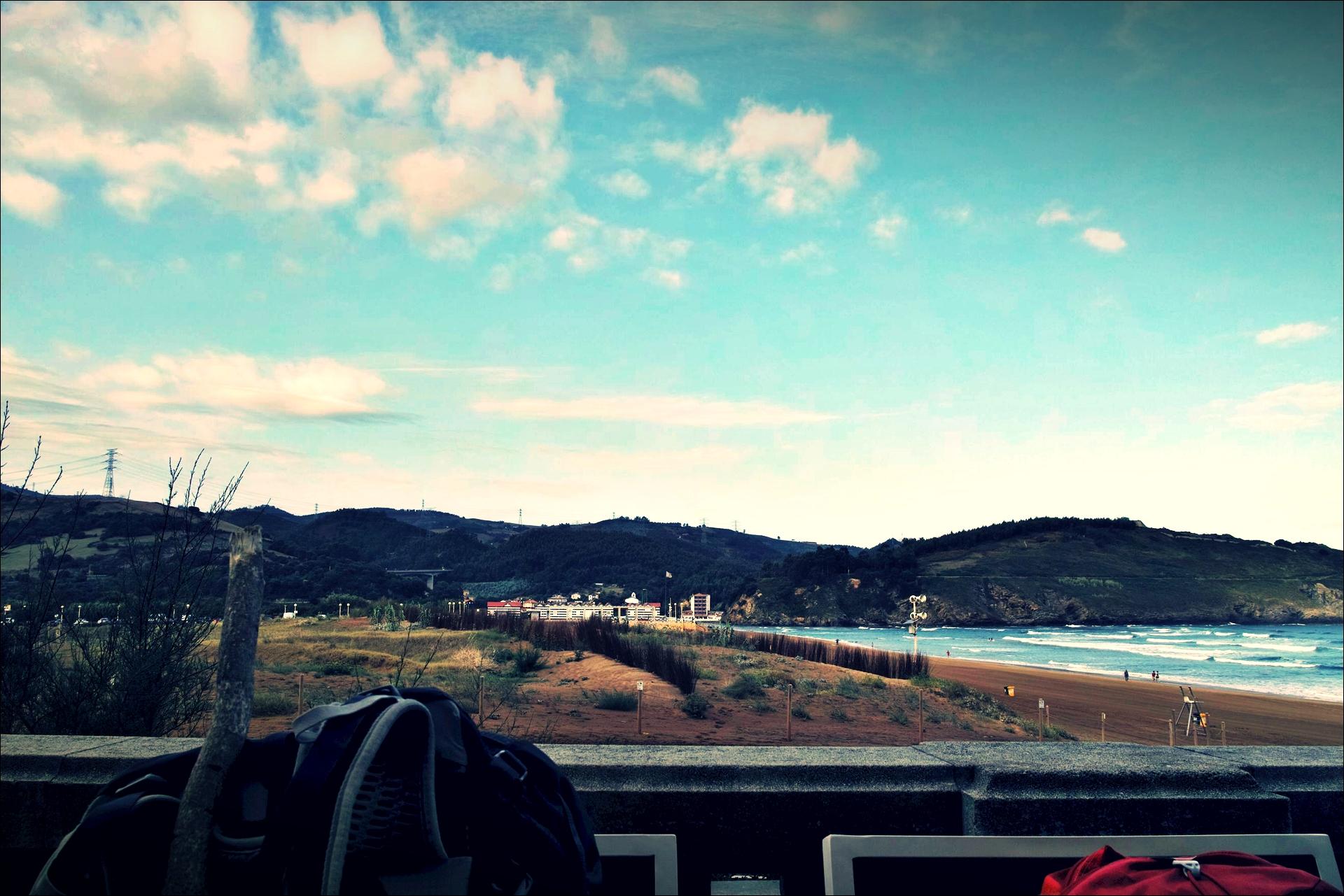 포베냐 해변-'카미노 데 산티아고 북쪽길. 포르투갈레테에서 카스트로 우르디알레스. (Camino del Norte - Portugalete to Castro Urdiales) '