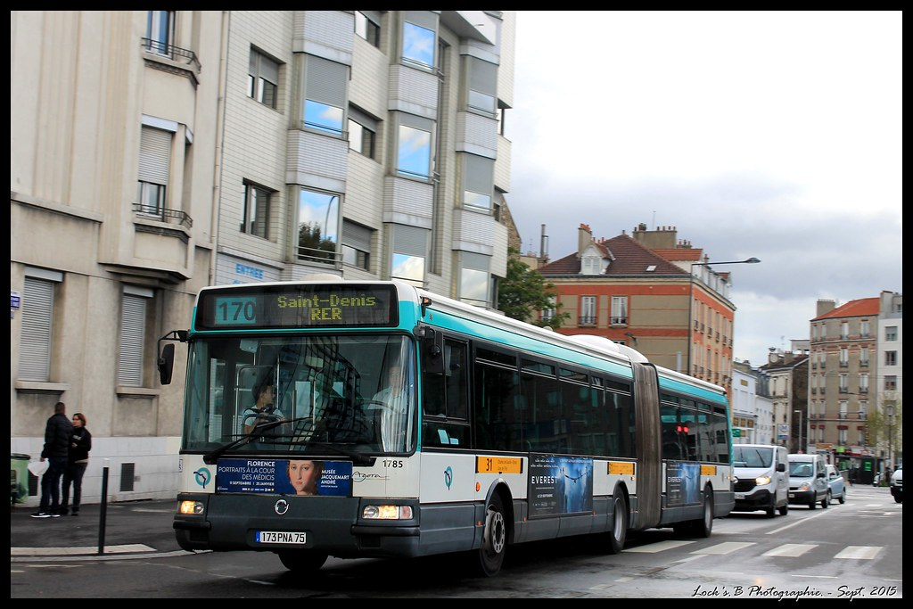 ratp bus ligne 170 renault agora l 3 st den flickr. Black Bedroom Furniture Sets. Home Design Ideas