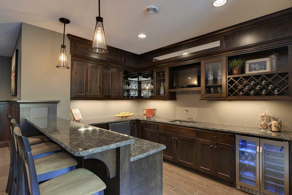 Basement Kitchen Cabinets