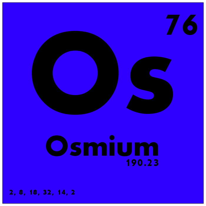 076 osmium periodic table of elements watch study guide flickr 076 osmium periodic table of elements by science activism urtaz Choice Image