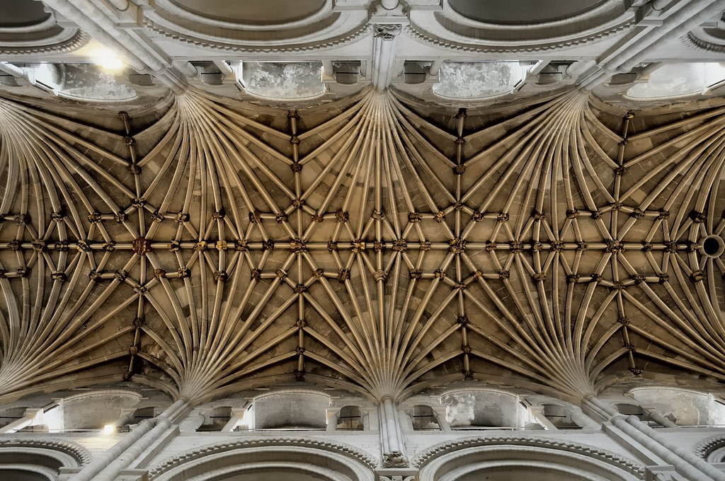 Gothic Fan Vaulted Ceiling C1460 Nave Cathedral Church
