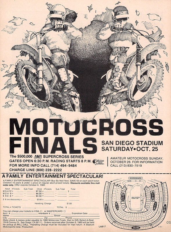 1980 San Diego Supercross