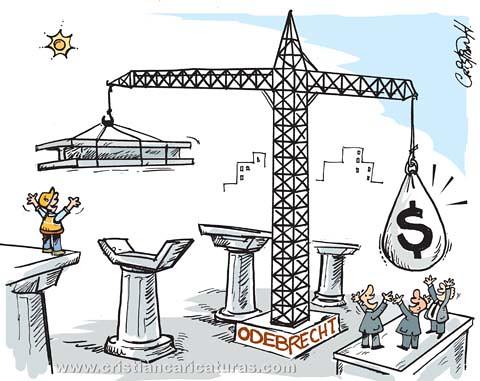 Caricatura Odebrecht