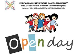 Noicattaro. Open Day Primaria e media Parchitello front