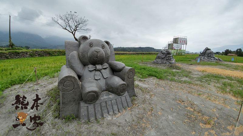 花蓮富里鄉農會稻草人暨沙雕展|進擊的巨人來襲