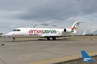 Amaszonas CRJ200 en LPB (F.Ruiz)