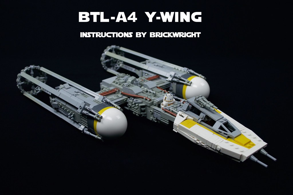 Btl A4 Y Wing Instructions Version 2 A While Back I Got Flickr