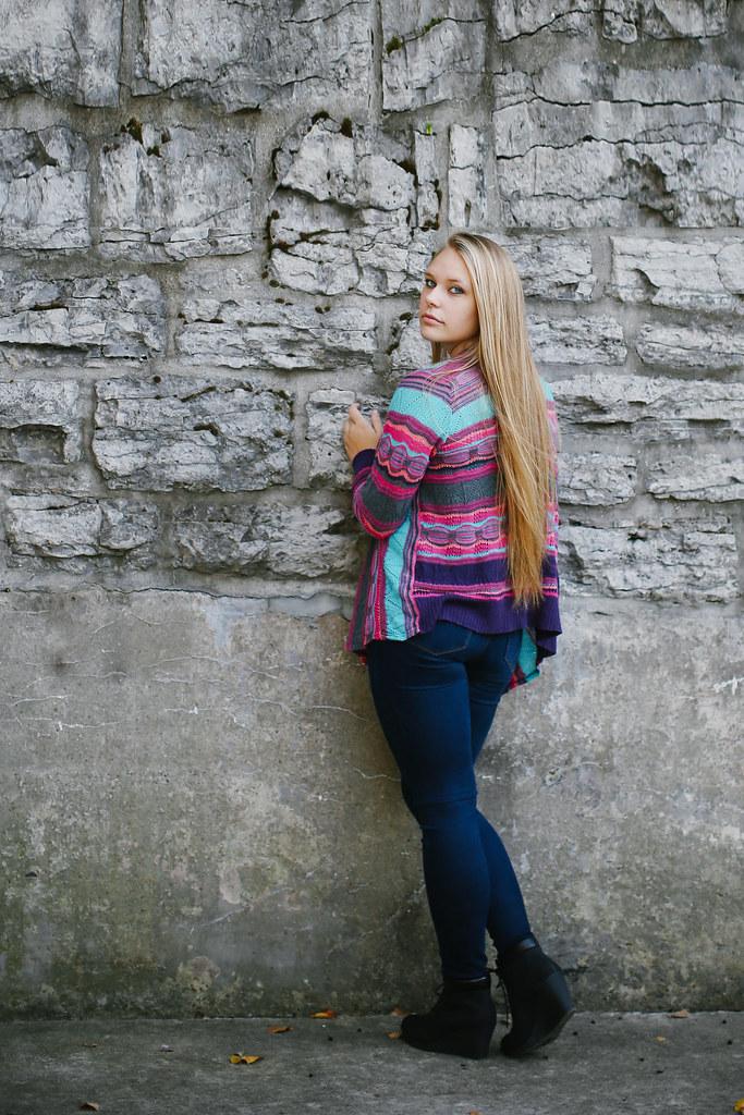 senior girl portrait Buffalo Easy photography studio Buffalo Amherst Lockport