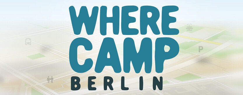 WhereCamp Berlin 2015 Logo
