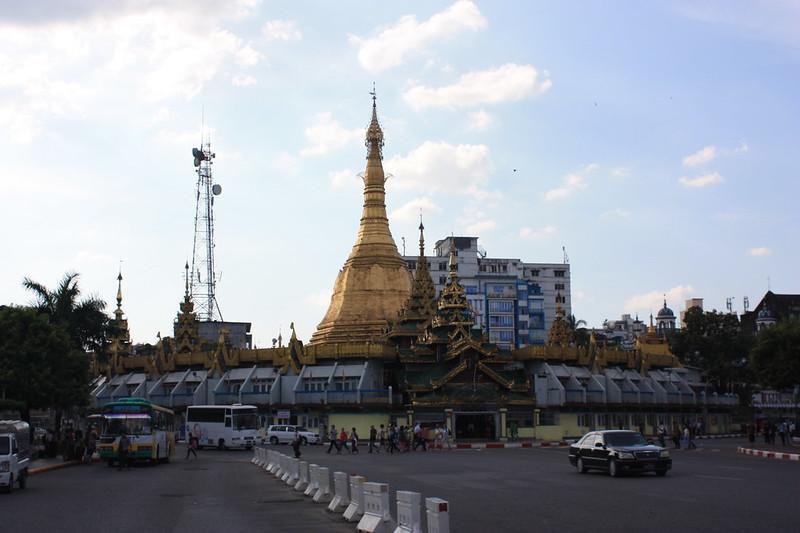 Пагода Суле. Рангон
