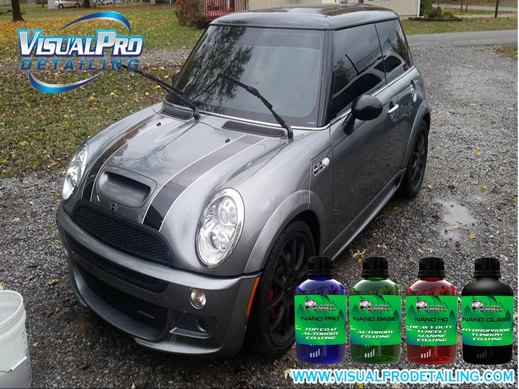 Pearln Nano Coatings In Mini Cooper S The Owner Of This