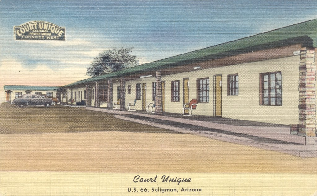 Court Unique - Seligman, Arizona