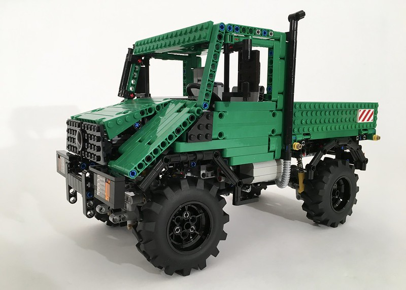 moc unimog u90 lego technic mindstorms model team. Black Bedroom Furniture Sets. Home Design Ideas