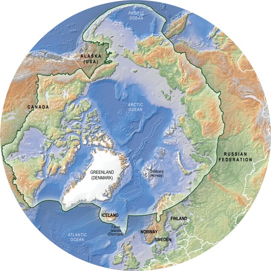 Arctic Conservation Area Caff Topographic Map The Conse Flickr