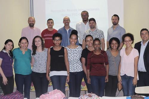 Recepção estudantes internacionais PEC-G 2017