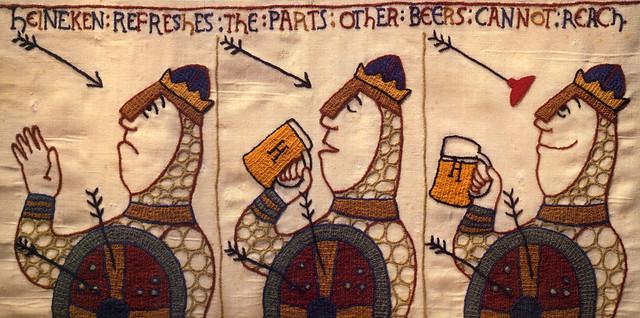 Heineken-1970s-tapestry