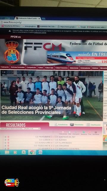 Vicente convocado para la Final por la  Sub 18 de Albacete