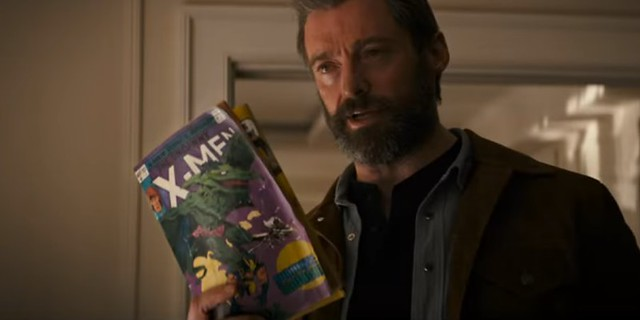 Logan X men comic
