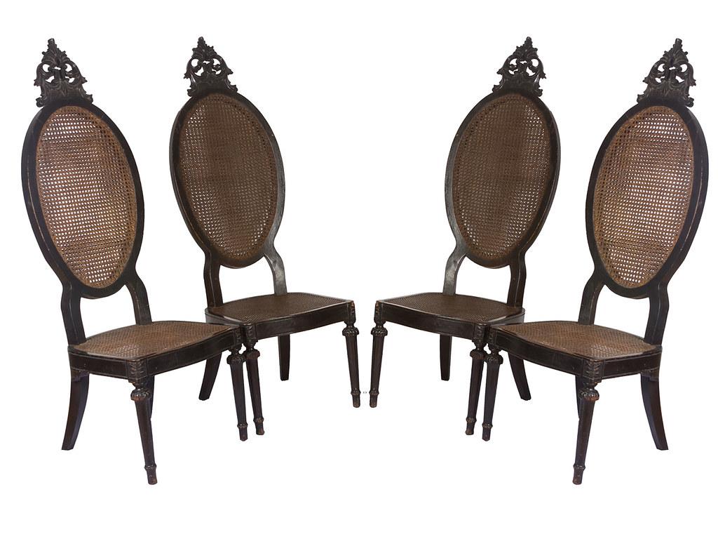 ... Four Bishopu0027s Chairs | By Leo Cloma