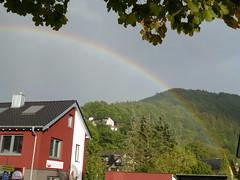 Regenbogen in Einruhr