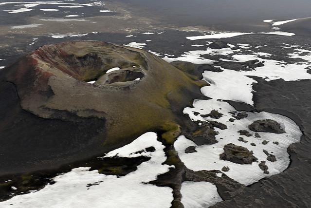 Volcán Laki de Islandia