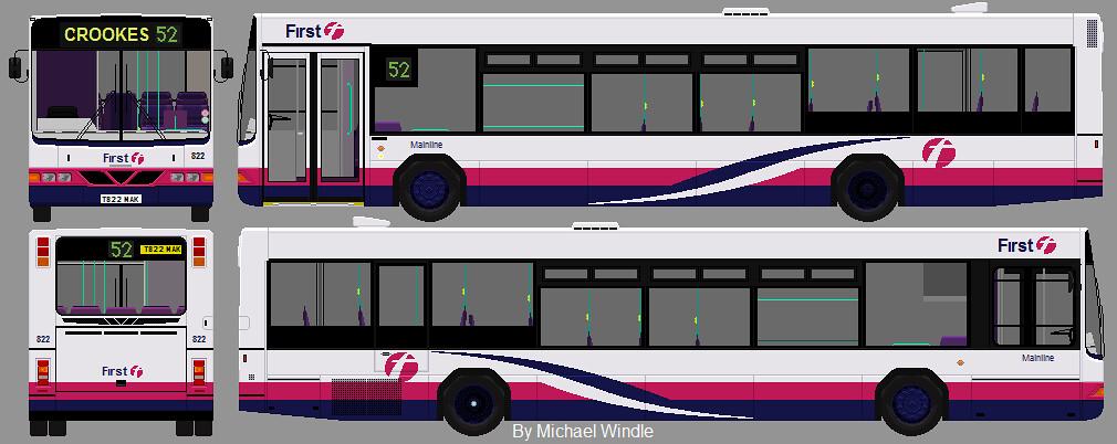 Volvo Aberdeen Volvo Acorn Transport Ltd Aberdeen Scotland Yn05 Vjl Busmanscotland S Most
