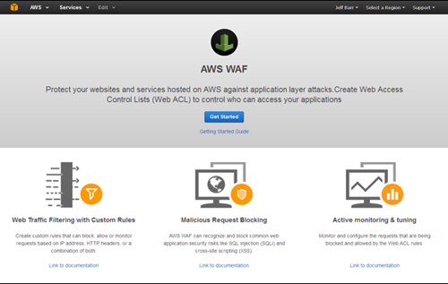 Amazon AWS Web Application Firewall (WAF ) Launched