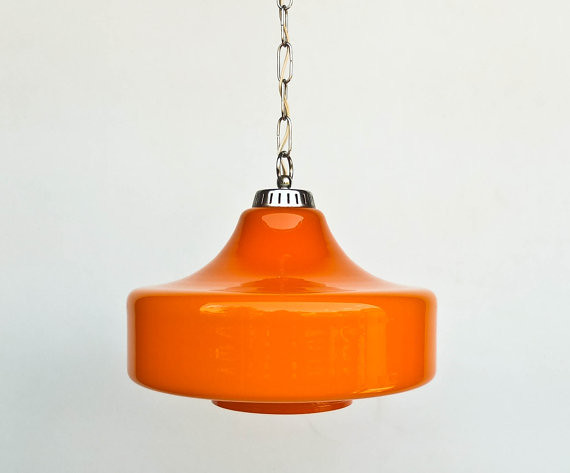 Vintage cased glass orange 70s ceiling lamp pendant lam flickr vintage cased glass orange 70s ceiling lamp pendant lamp hanging light by orangem6 aloadofball Image collections