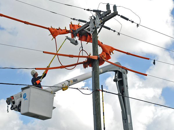 Florida power and light hook up