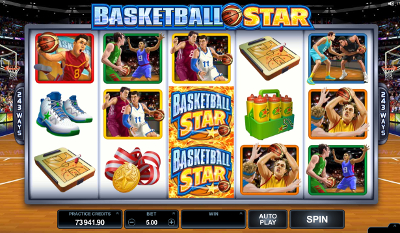 Basketball Star slot game online review