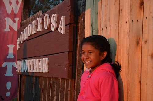 A young resident of the Ponderosa Homeowners Cooperative was among those celebrating the conversion of their community to a resident-owned co-op. Photo by Mike Bullard, courtesy ROC USA