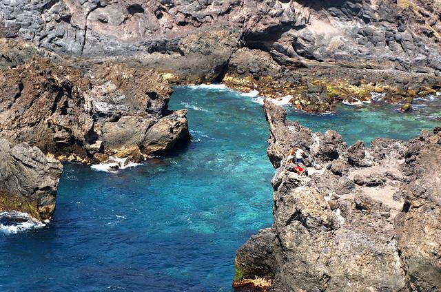 Cove in Isla Baja, Tenerife