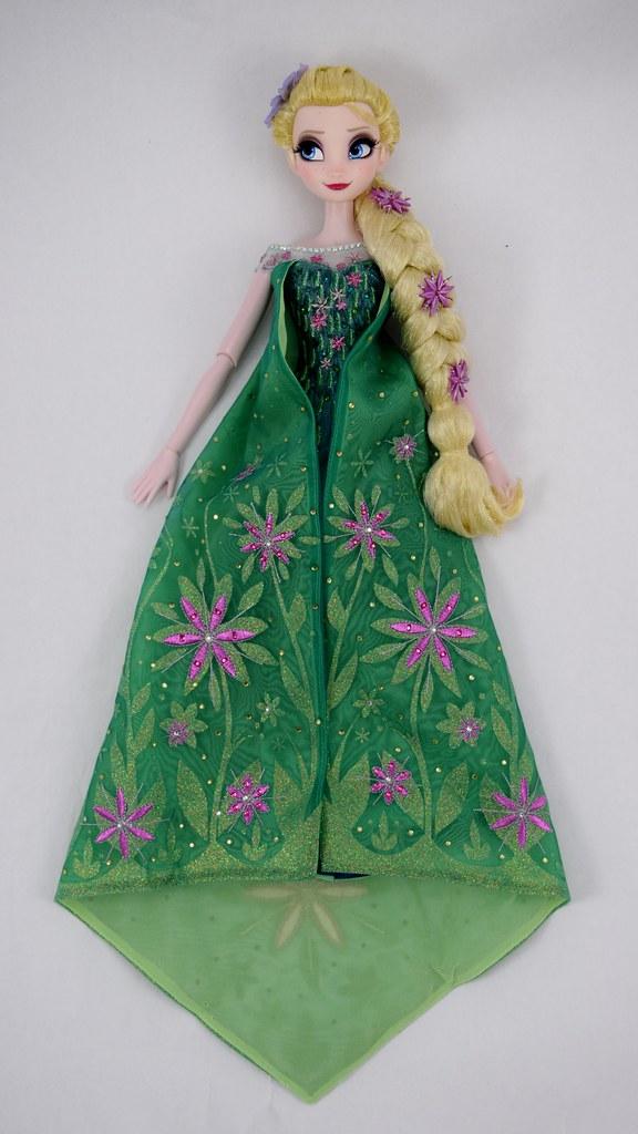 Frozen Fever Elsa Limited Edition 17'' Doll - US Disney St… | Flickr