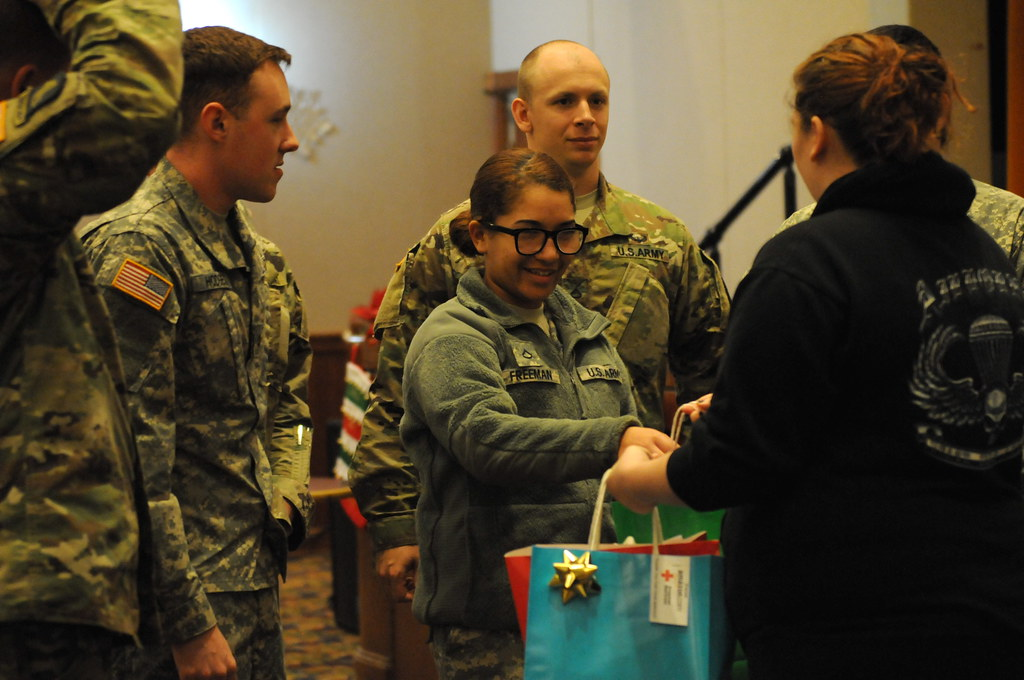 Red Cross Gifts Giveaway - U S  Army Garrison Humphreys, S