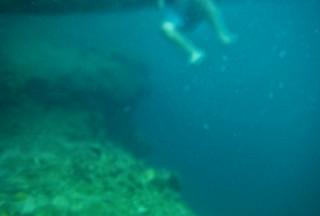 Coron - Twin Lagoon abyss